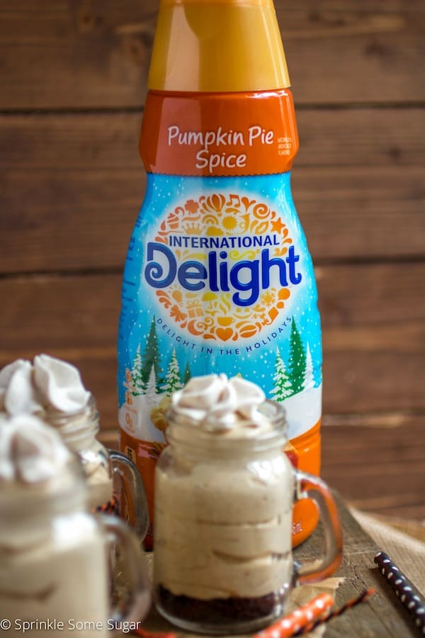 Pumpkin Spice Cheesecake Shooters - Sprinkle Some Sugar
