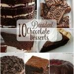 10 Decadent Chocolate Desserts