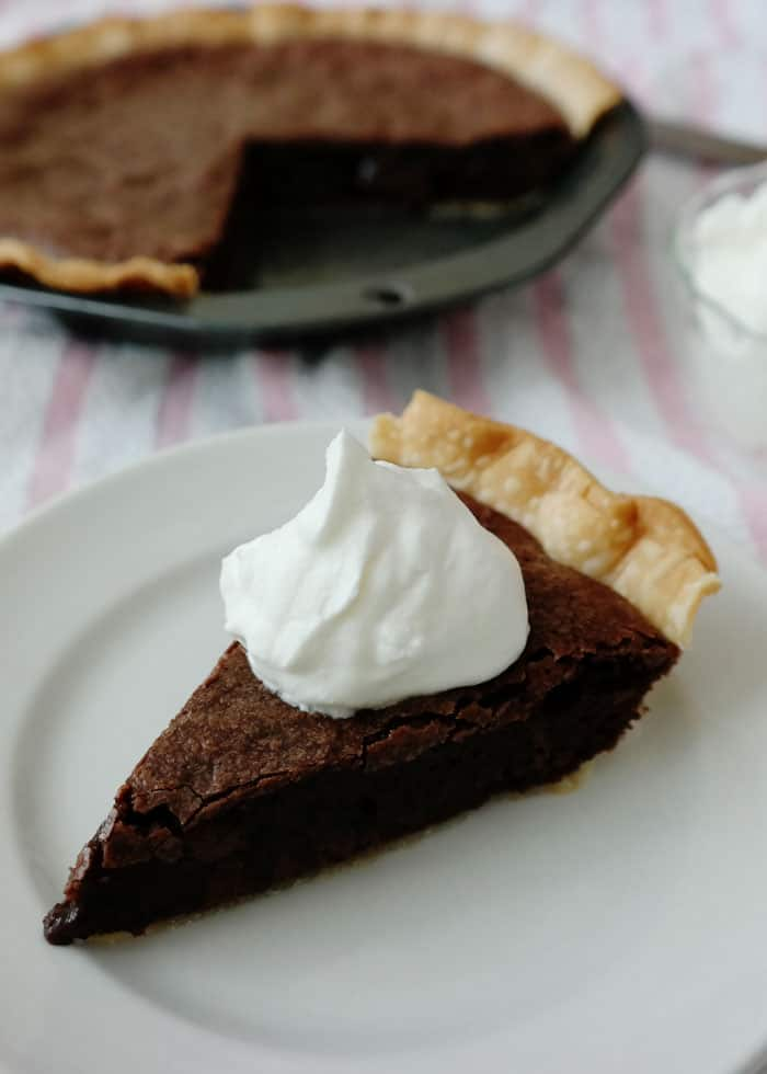 Easy Brownie Pie - Chocolate Chocolate and More