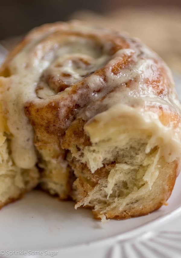 Soft and Fluffy Cinnamon Rolls - Sprinkle Some Sugar