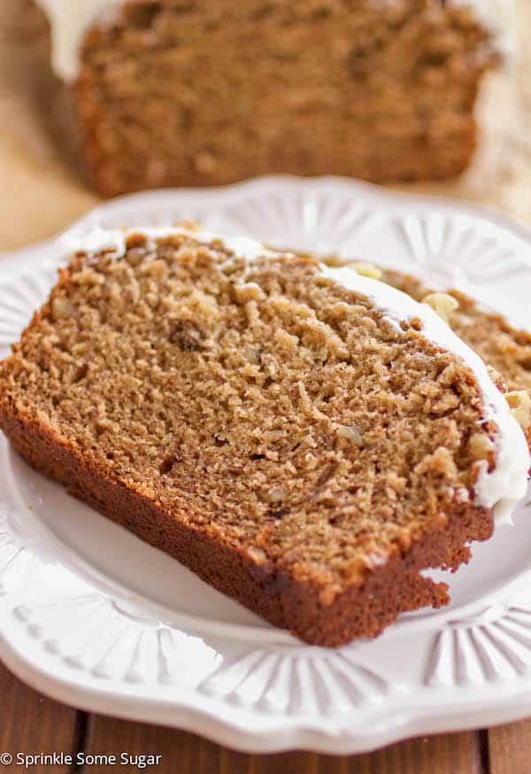 Banana Walnut Bread - Sprinkle Some Sugar