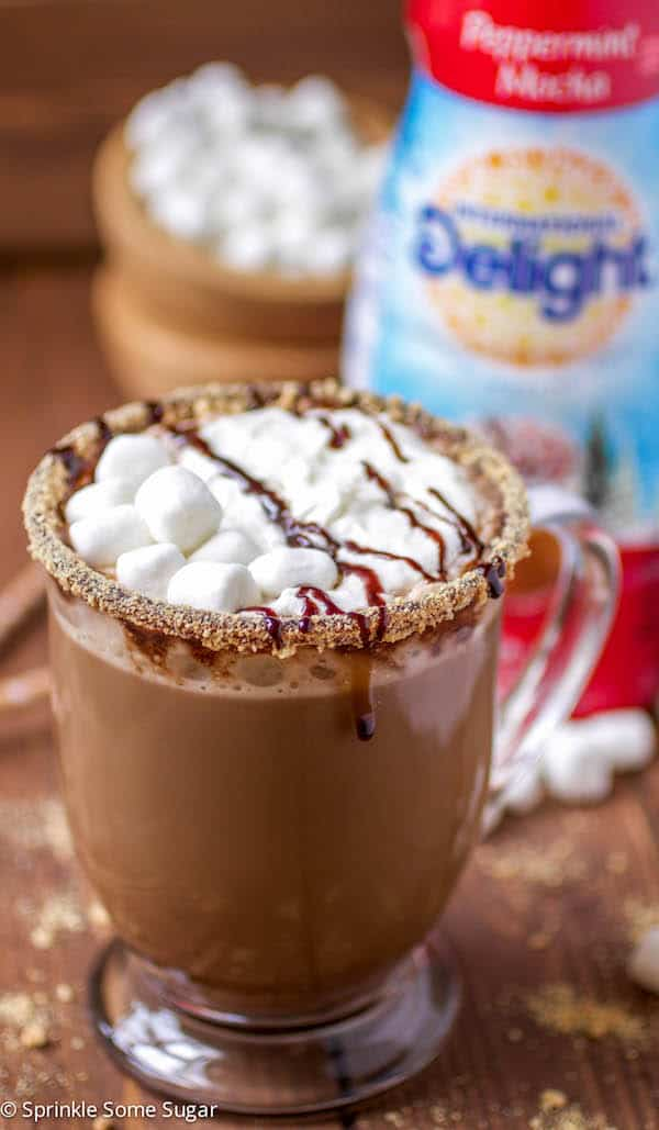 Peppermint Mocha - Sprinkle Some Sugar