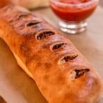 Italian Sausage and Provolone Stromboli