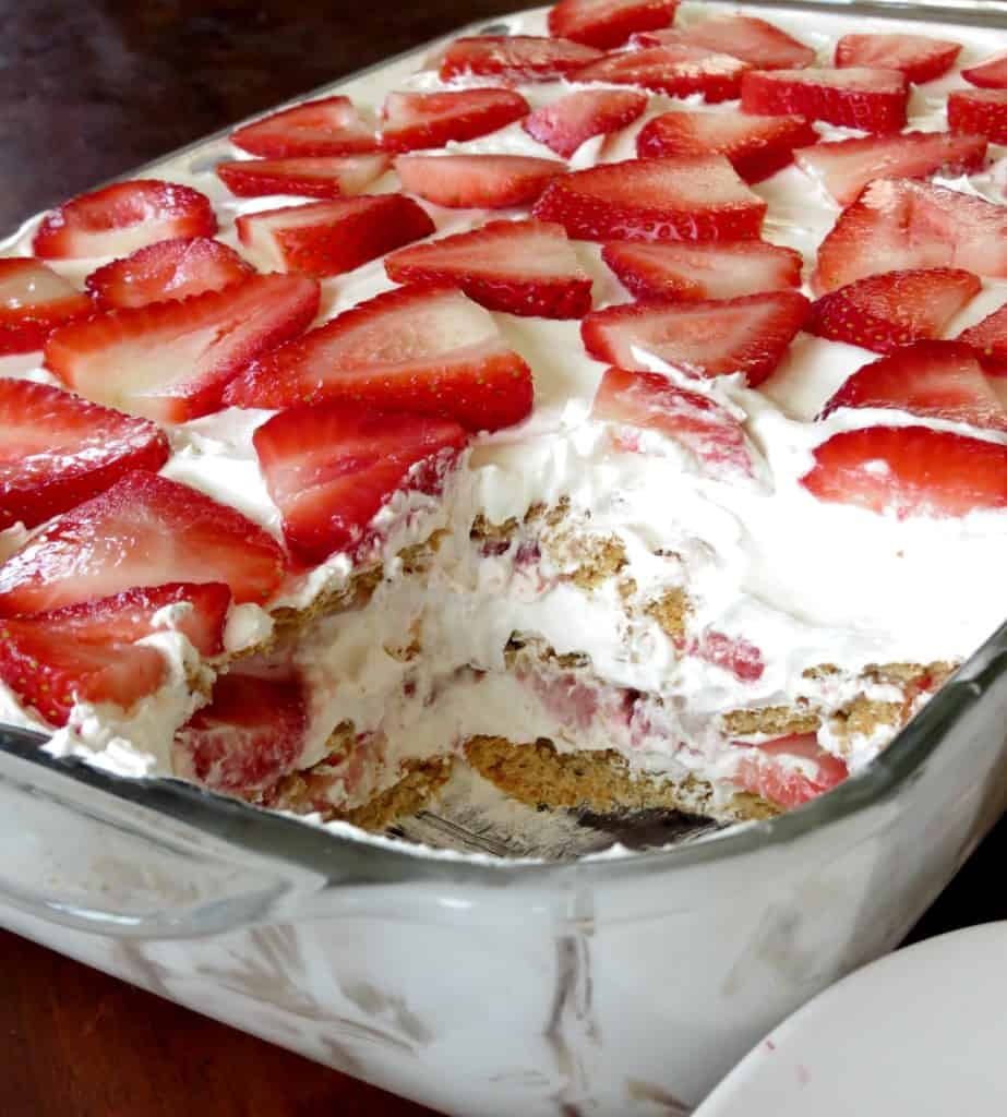 Strawberry Icebox Cake - Sprinkle Some Sugar