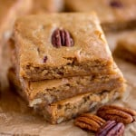 Browned Butter Pecan Blondies
