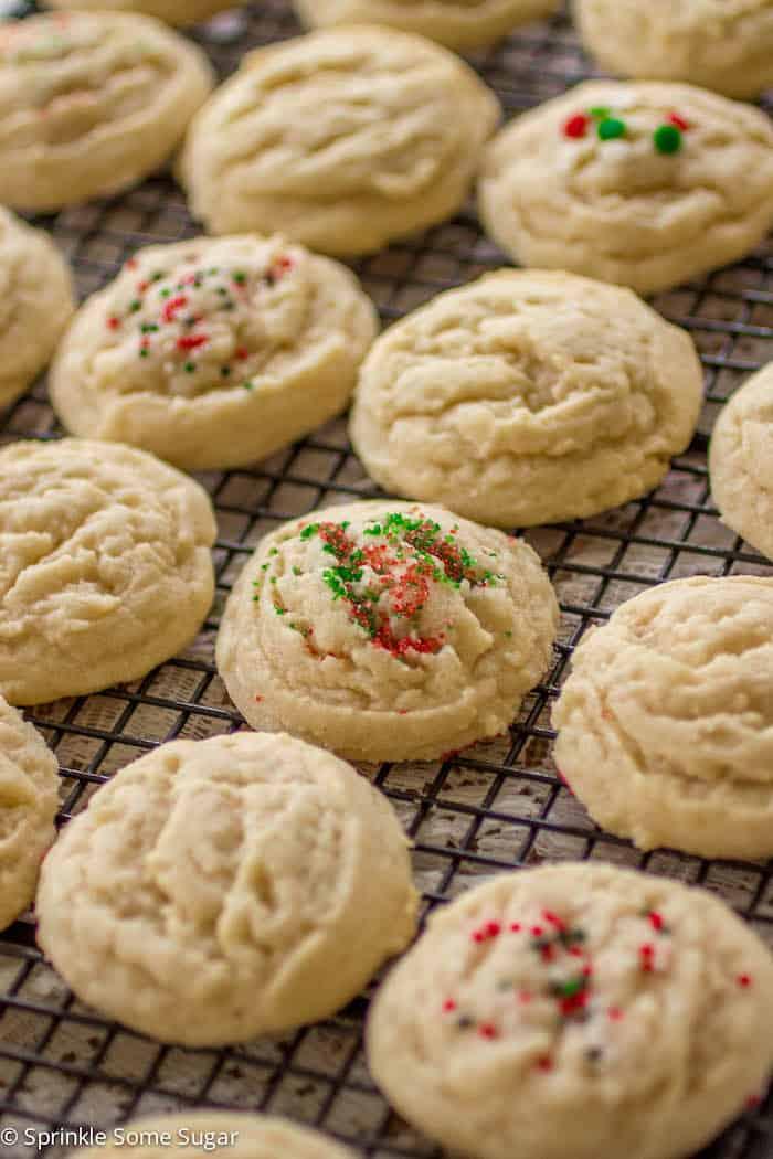 Soft Sugar Cookies - Sprinkle Some Sugar