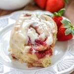 Strawberry Cinnamon Rolls