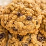 Classic Soft and Chewy Oatmeal Raisin Cookies