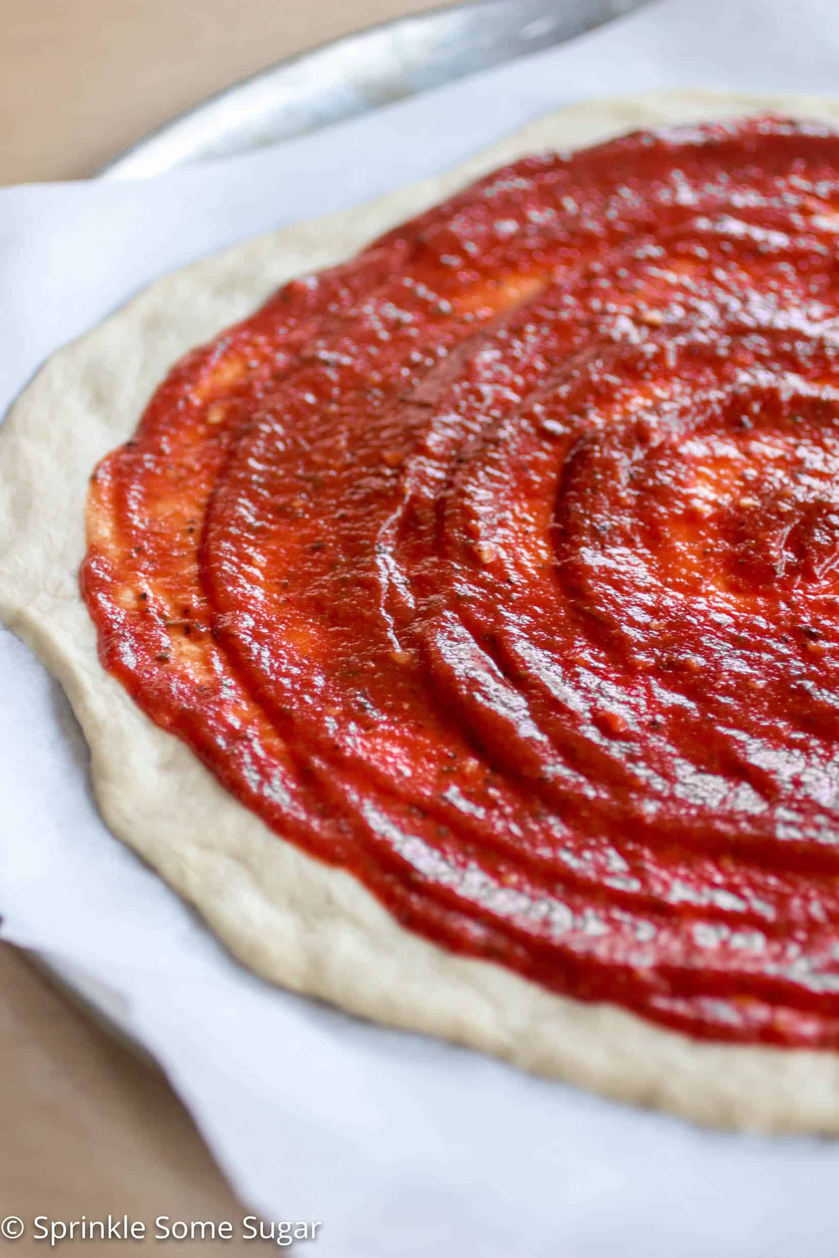 the best homemade pizza sauce sprinkle some sugar