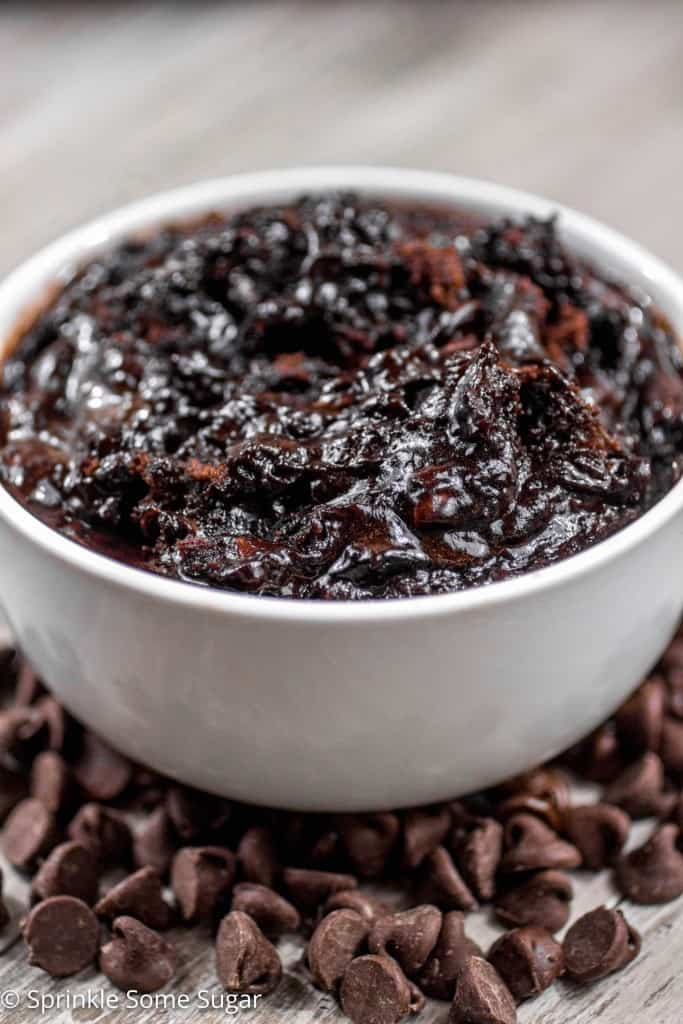 Slow Cooker Brownie Pudding - Ooey gooey brownie pudding made easy right in your slow cooker.