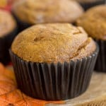 Cheesecake-Filled Pumpkin Spice Muffins