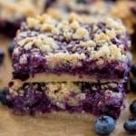 Coconut Blueberry Bars