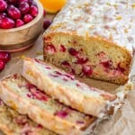 Glazed Cranberry Orange Bread