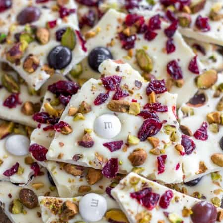 Extremely simple and delicious Christmas candy bark.