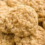Toasted Coconut Oatmeal Cookies