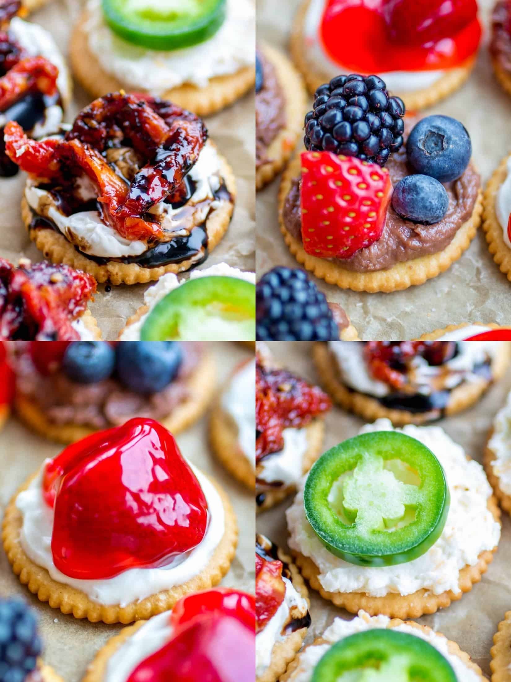 These sweet and savory bite-size recipes using RITZ Crackers, cream cheese and a few other tasty ingredients are going to be the star of your next gathering!