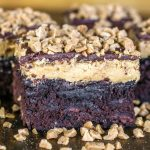 Buckeye Toffee Brownies