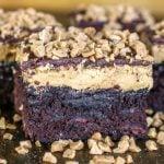 Buckeye Toffee Brownies