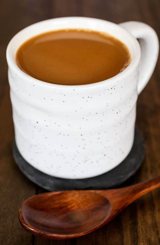 Homemade Caramel Coffee Creamer - Sprinkle Some Sugar