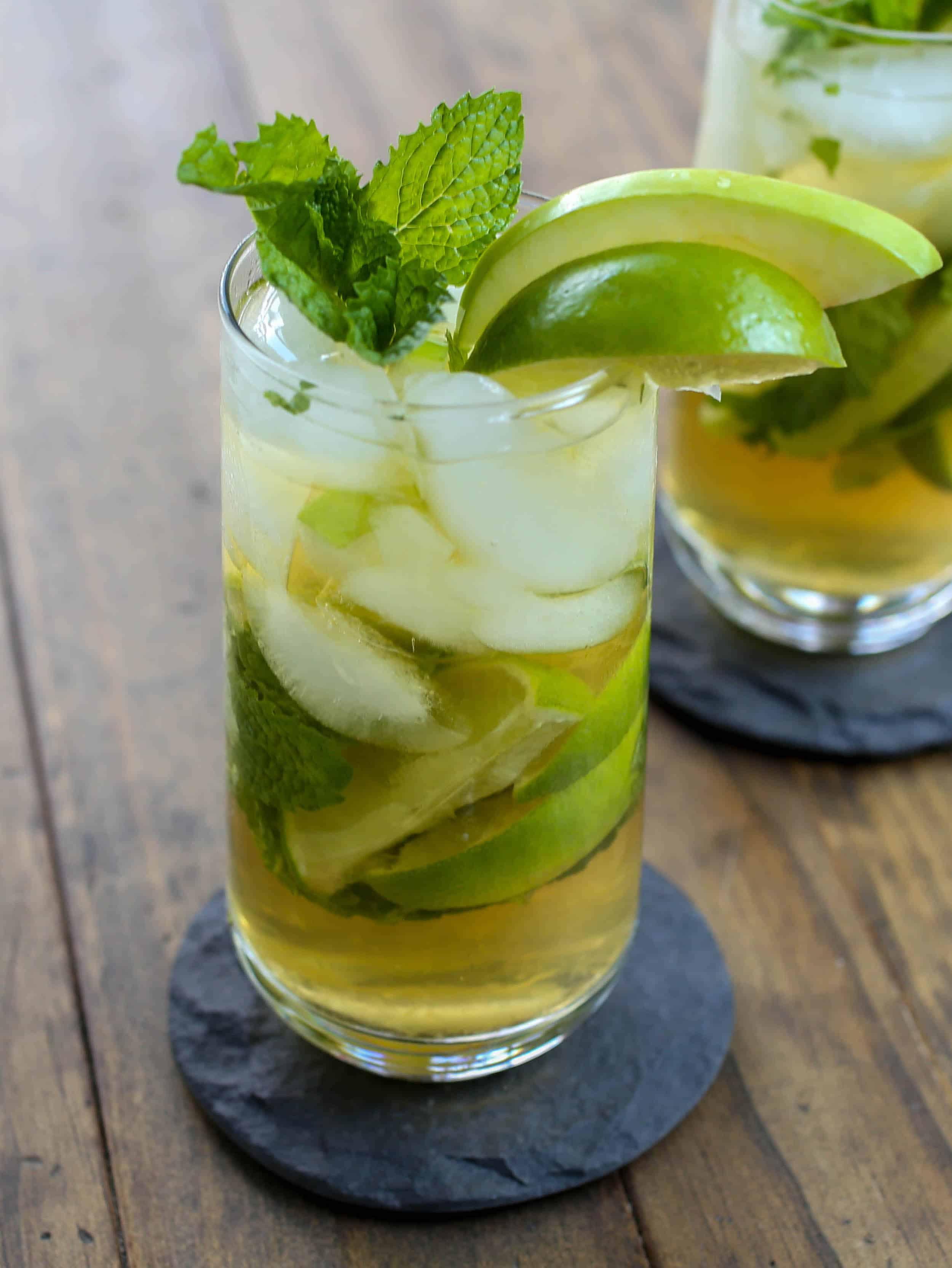 Apple Cider Mojito - Sprinkle Some Sugar