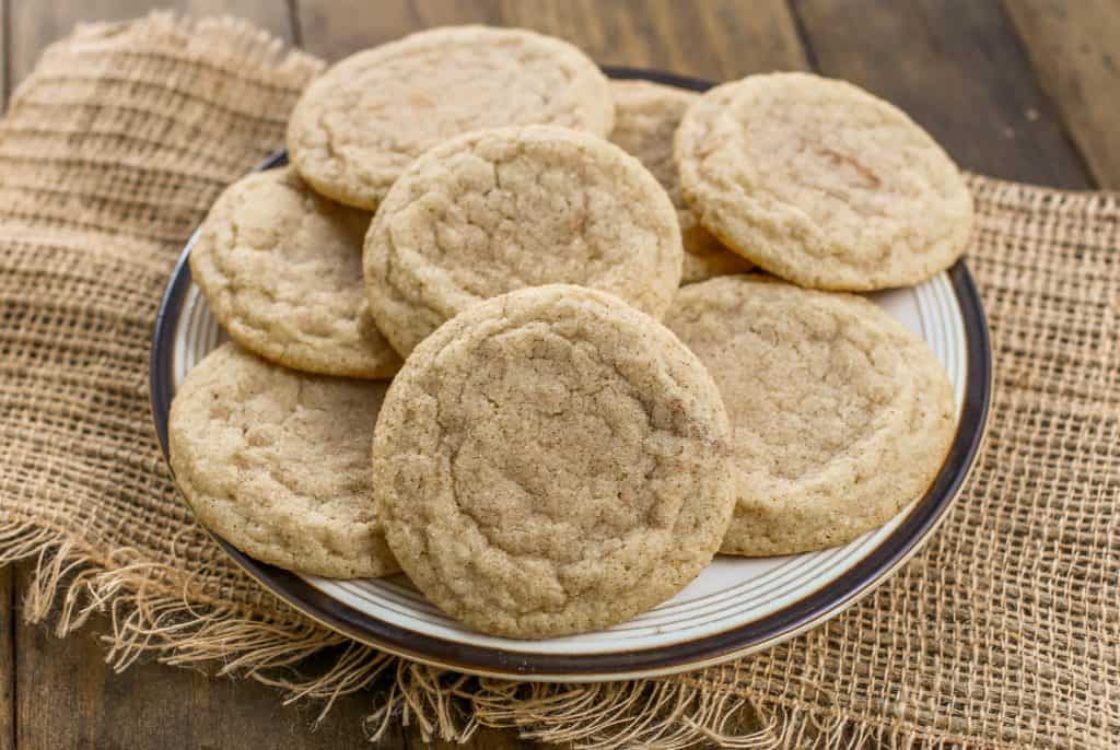 Cinnamon Spice Sugar Cookies - Sprinkle Some Sugar