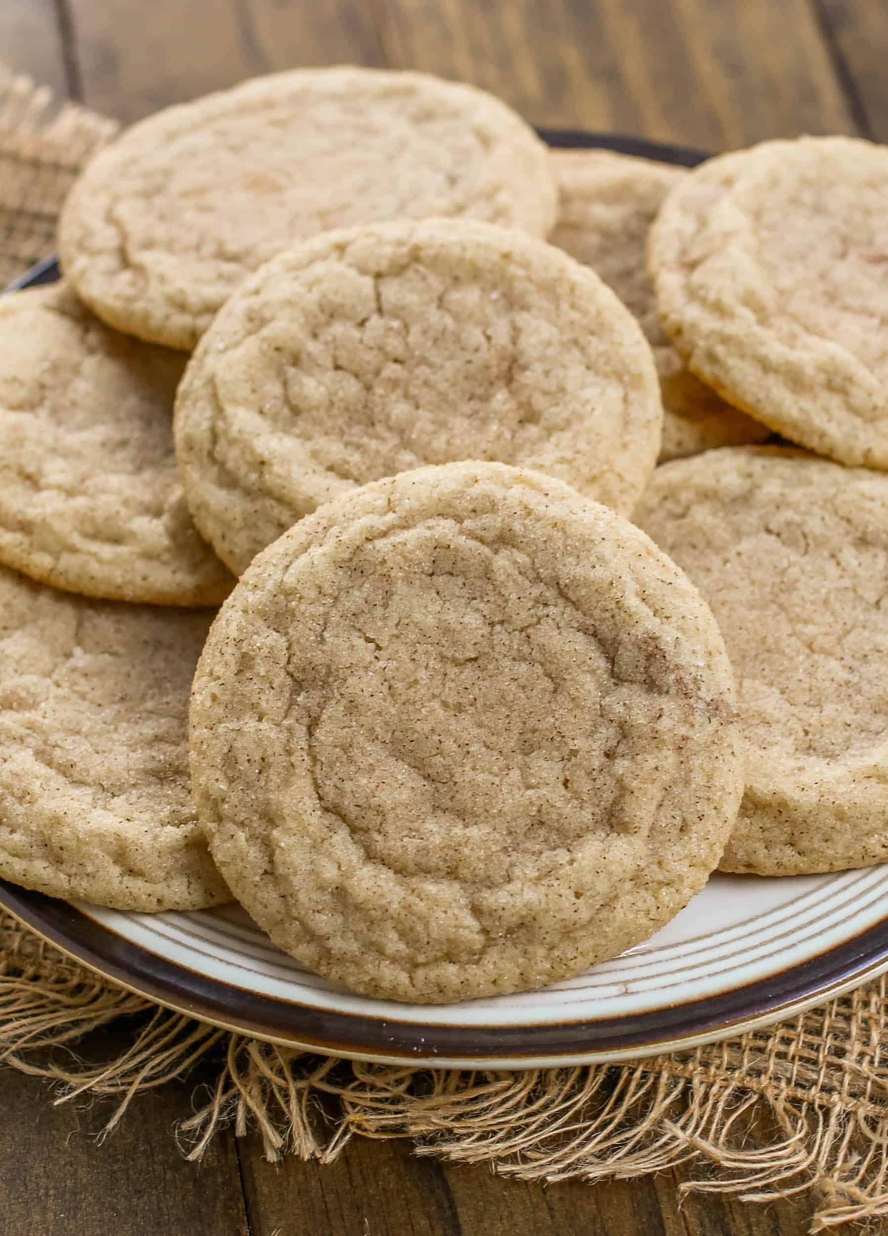 Cinnamon Spice Sugar Cookies - Sprinkle Some Sugar
