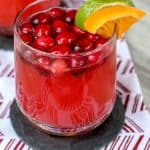 Sparkling Cranberry Fruit Punch