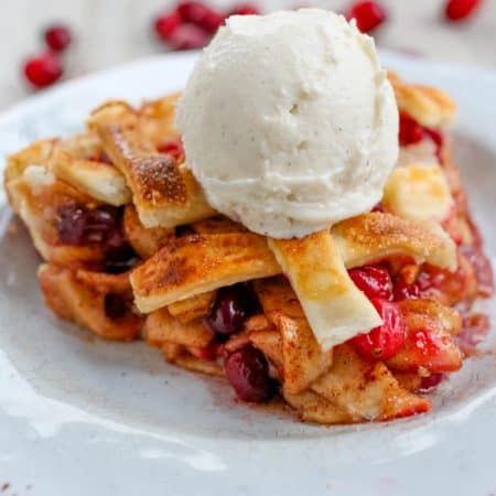 Cranberry Apple Pie - Sprinkle Some Sugar