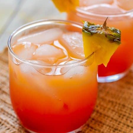 Coconut Rum Cocktail - Sprinkle Some Sugar