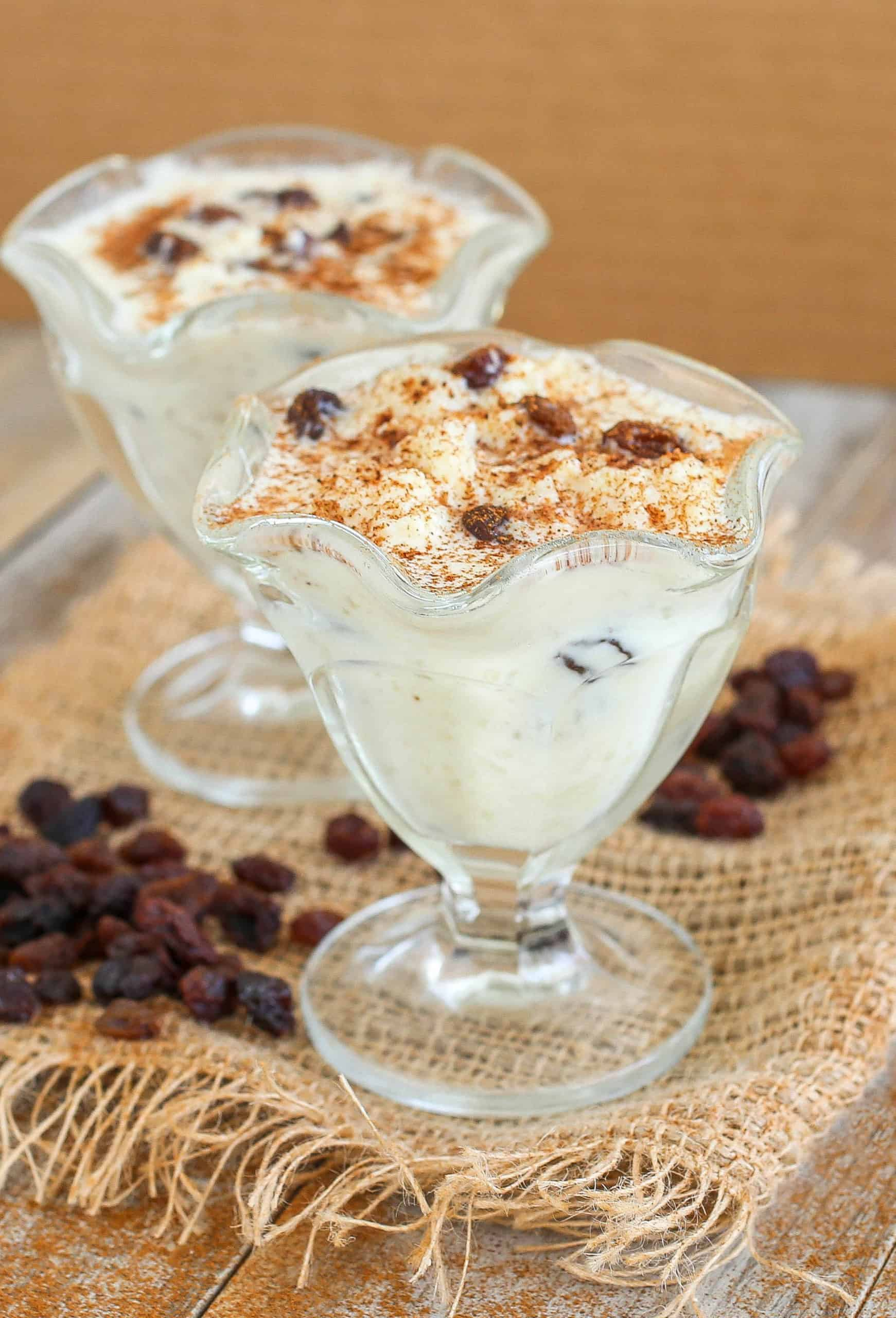 Oven-Baked Rice Pudding - Sprinkle Some Sugar